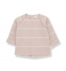 LIGHT PINK SWEATER IN WARM COTTON