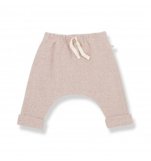 LIGHT PINK PANTS IN WARM COTTON