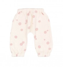 CREAM BAGGY WITH DOTS