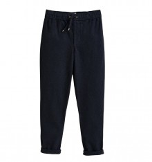 BLUE PANTS WITH COULISSE