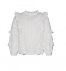LACE SHIRT OFF-WHITE